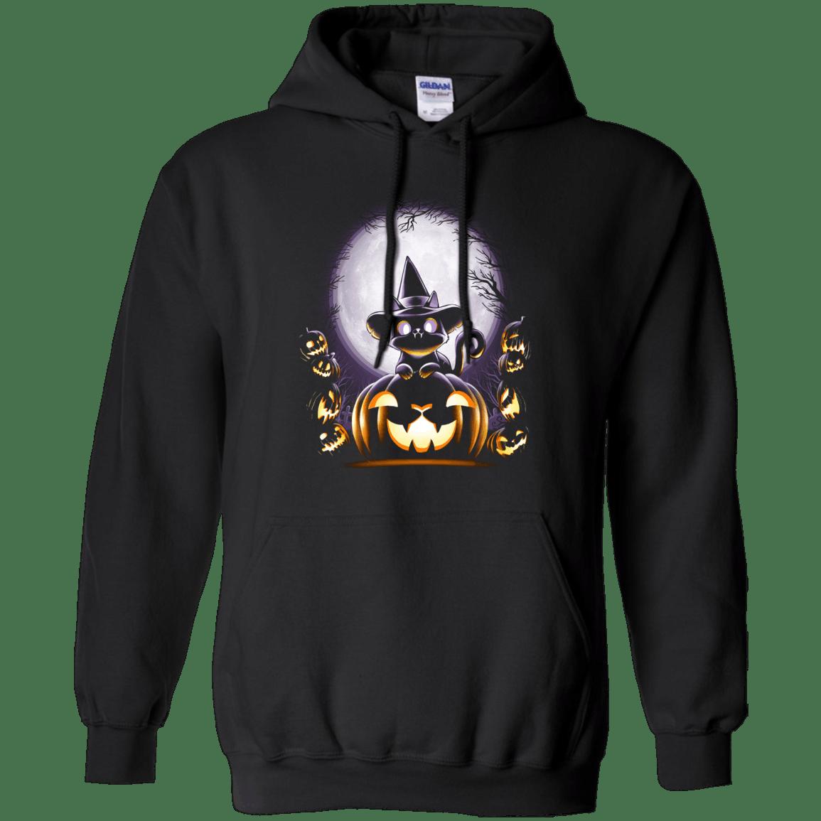 Witch Cat Night pumkin halloween Hoodie