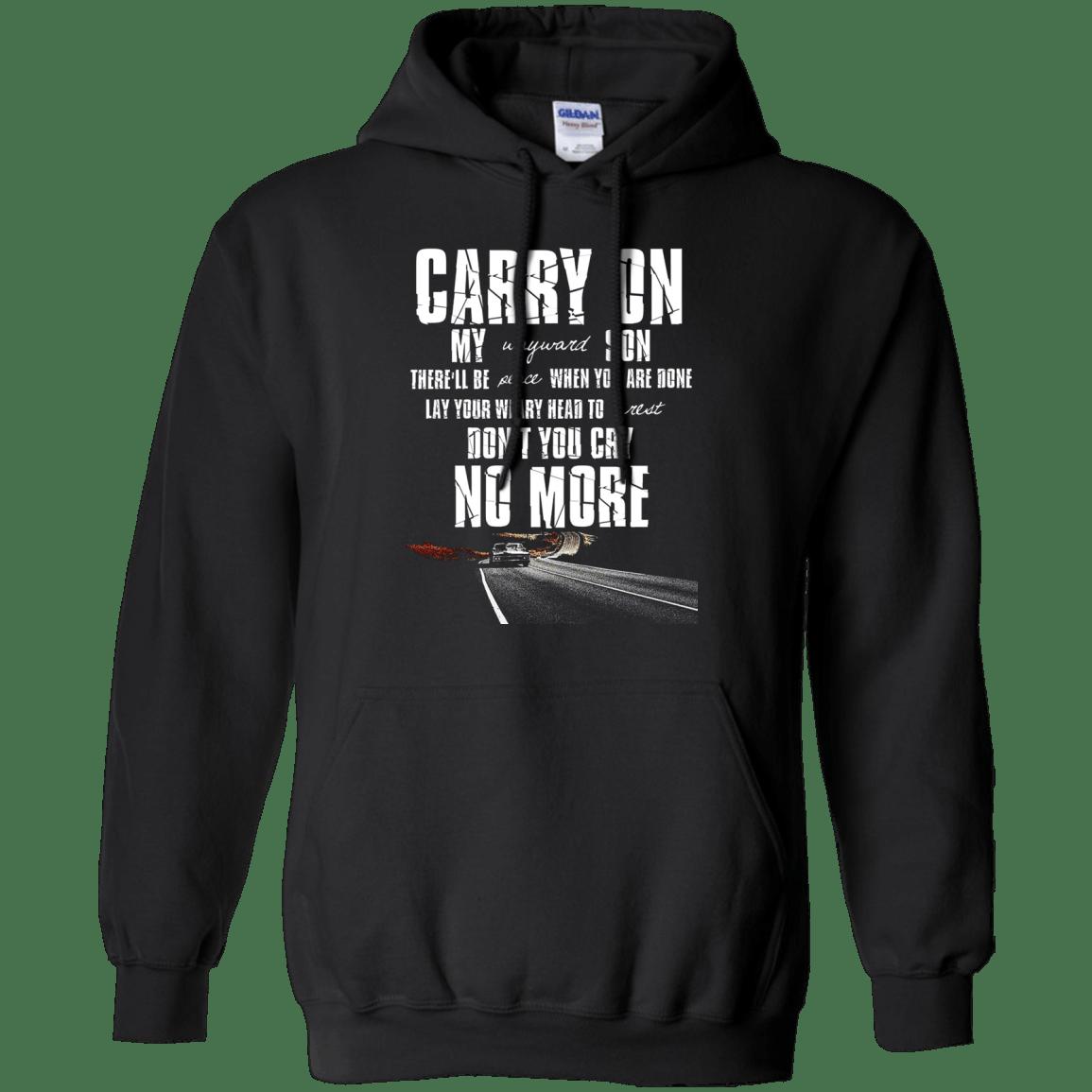 Carry on my Wayward Son – Supernatural Hoodie