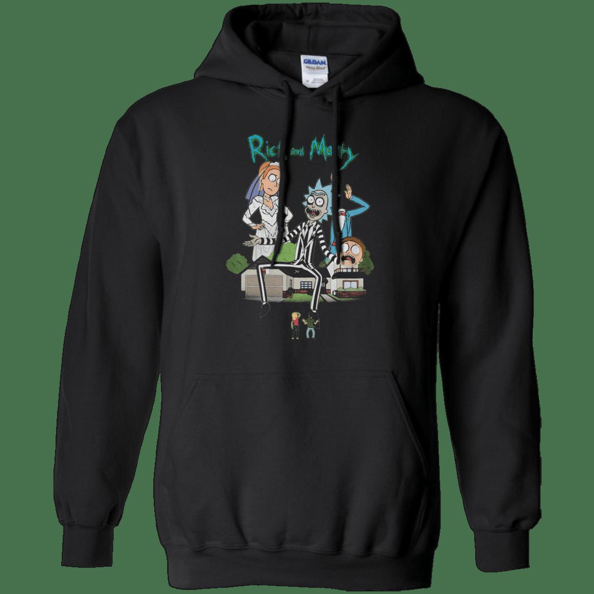 Rick And Morty Beetlejuice Printed G185 Gildan Pullover Hoodie 8 oz