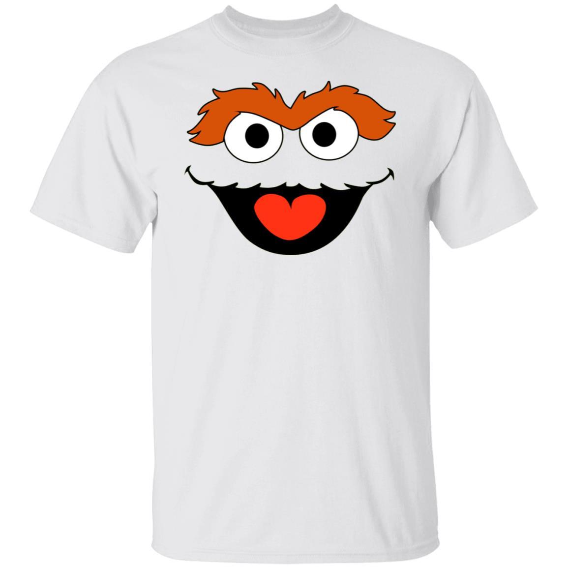 Sesame Street Oscar Face Shirt