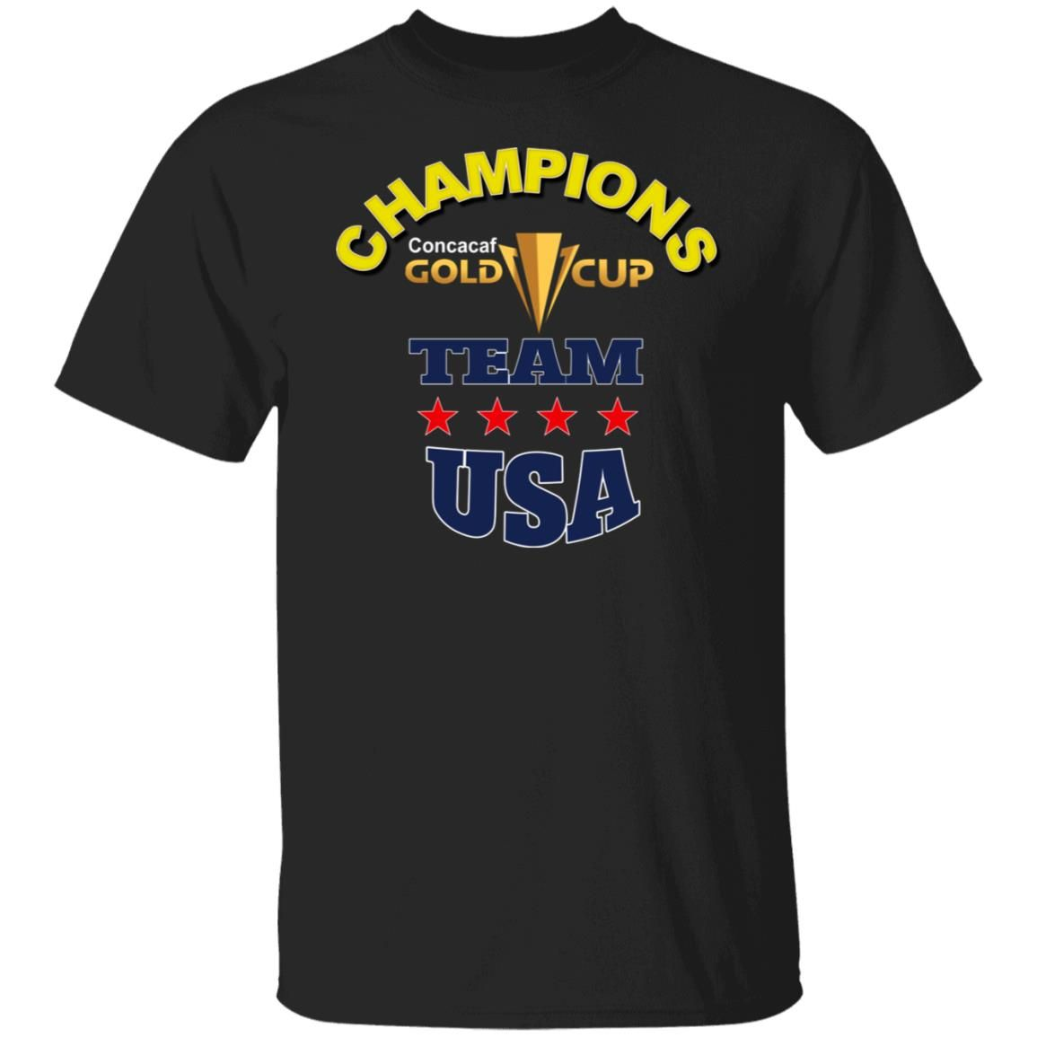 Champions Concacaf Gold Cup Team USA T-shirt