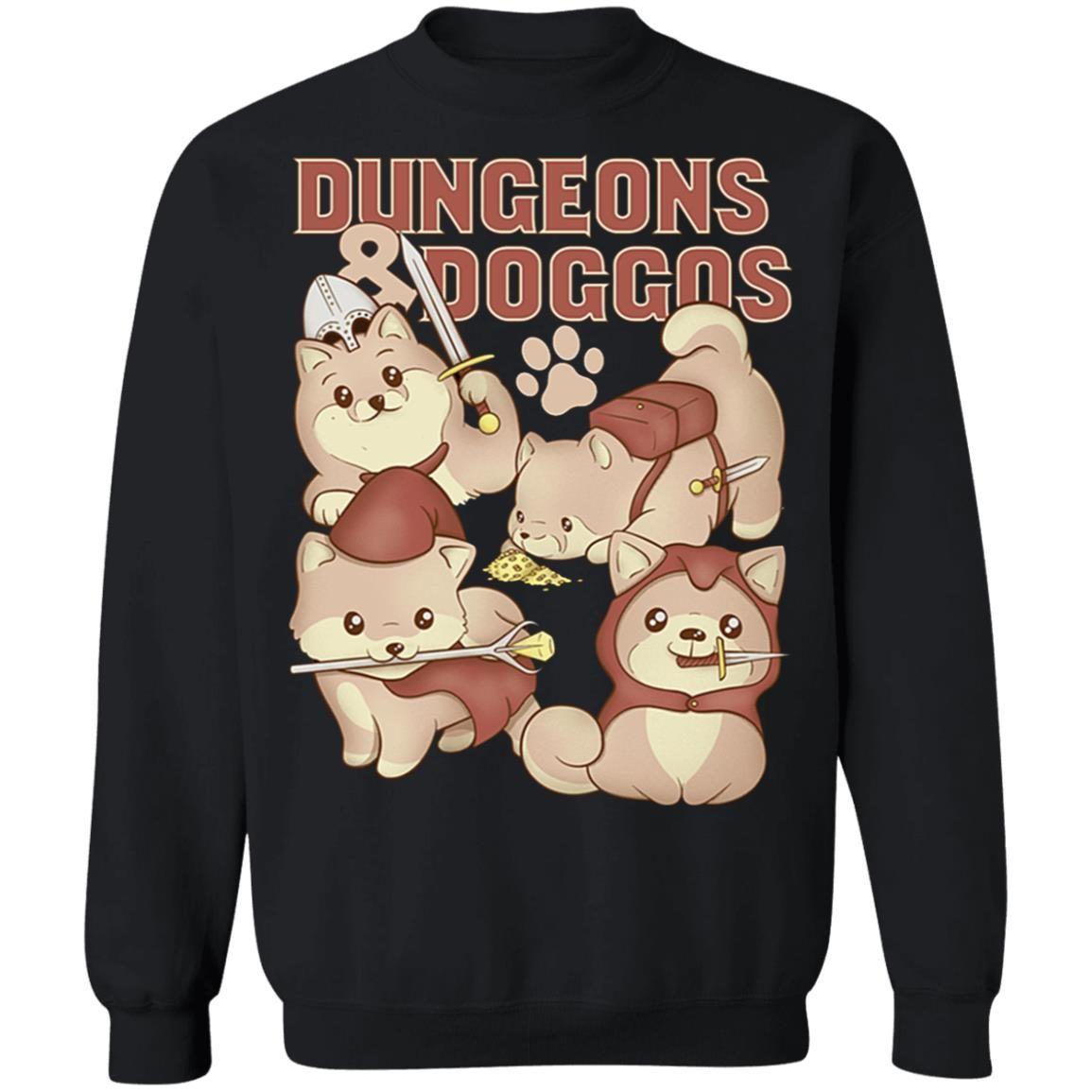 Dungeons Doggos Siba shirt