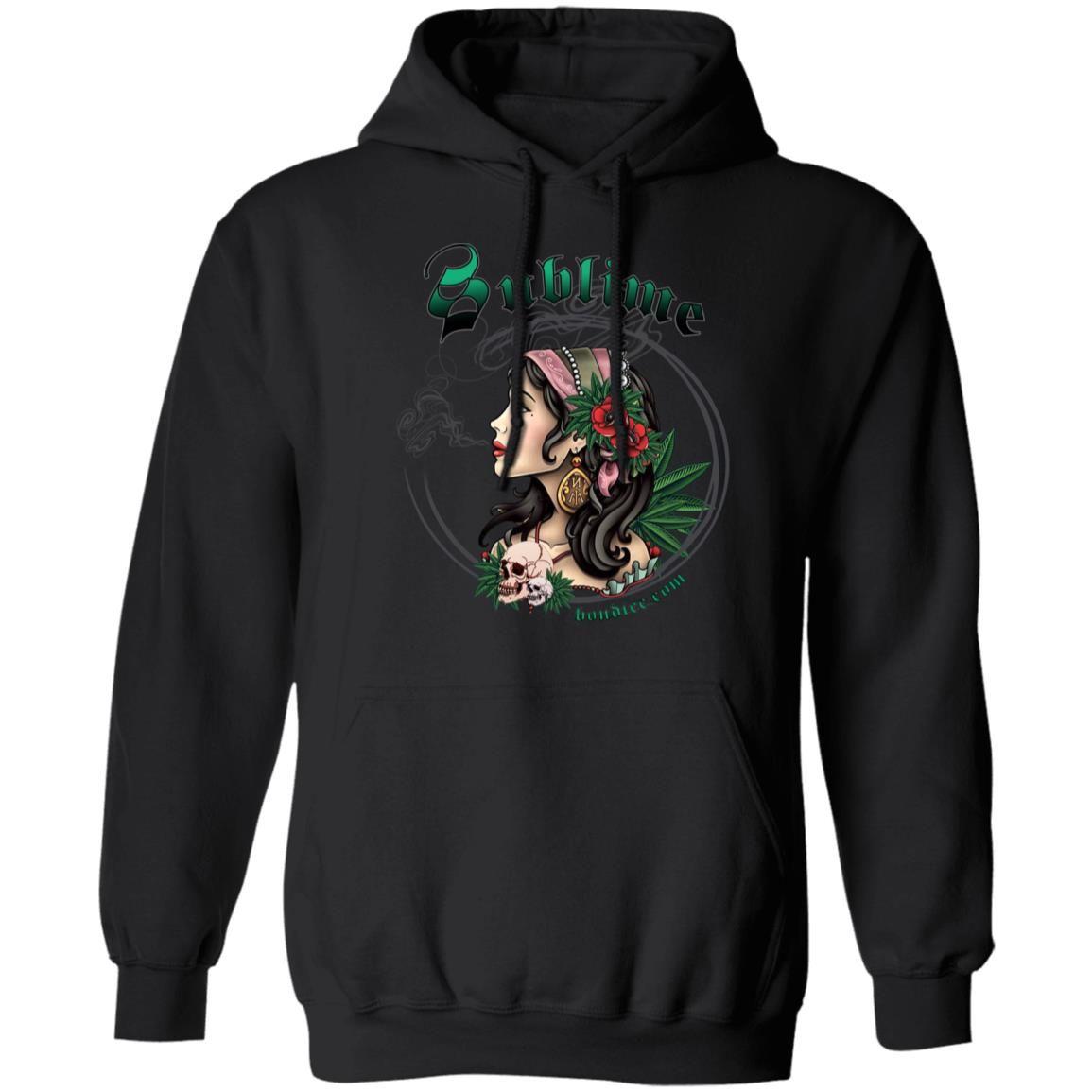 Sullen x Sublime Strains Black shirt