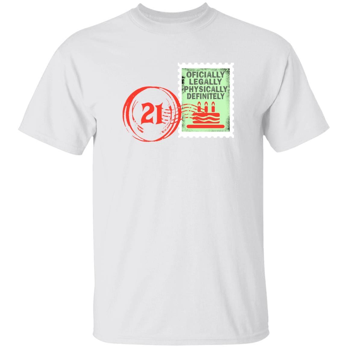 Birthday Stamp 21 shirt