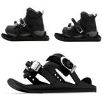 1 Pair Ski Shoes - Adjustable Mini Ski Skates Shoe Attachment For S