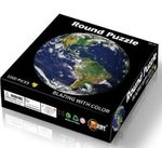 1000 Piece Round Earth Jigsaw Puzzle