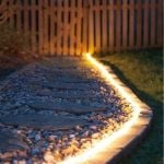 40ft Solar Garden Pathway Light Strips