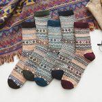 5 Pair Of Norwegian Winter Socks