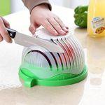 60 Seconds Salad Cutting Slicer Bowl
