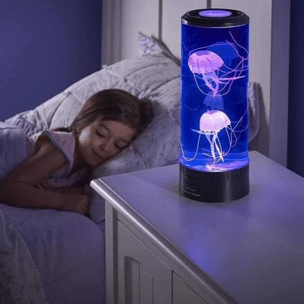 Bedside Hypnotic Jellyfish Lamp Aquarium