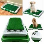 Dog Toilet Mat Indoor Restroom Training Grass Potty Pad