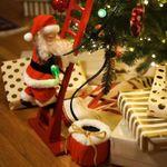 Electric Climbing Santa