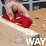 Ez Chamfer - Woodworking 45 Degree Edge Auto Chamfering Tool