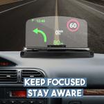 Head-Up Car Navigation Display