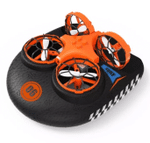 Hovercraft Drone For Air, Land & Water 3-In-1