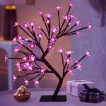 Led Tabletop Cherry Blossom Tree Light
