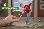 Mini Golfing Man Indoor Golf Game Fun  Golf Game