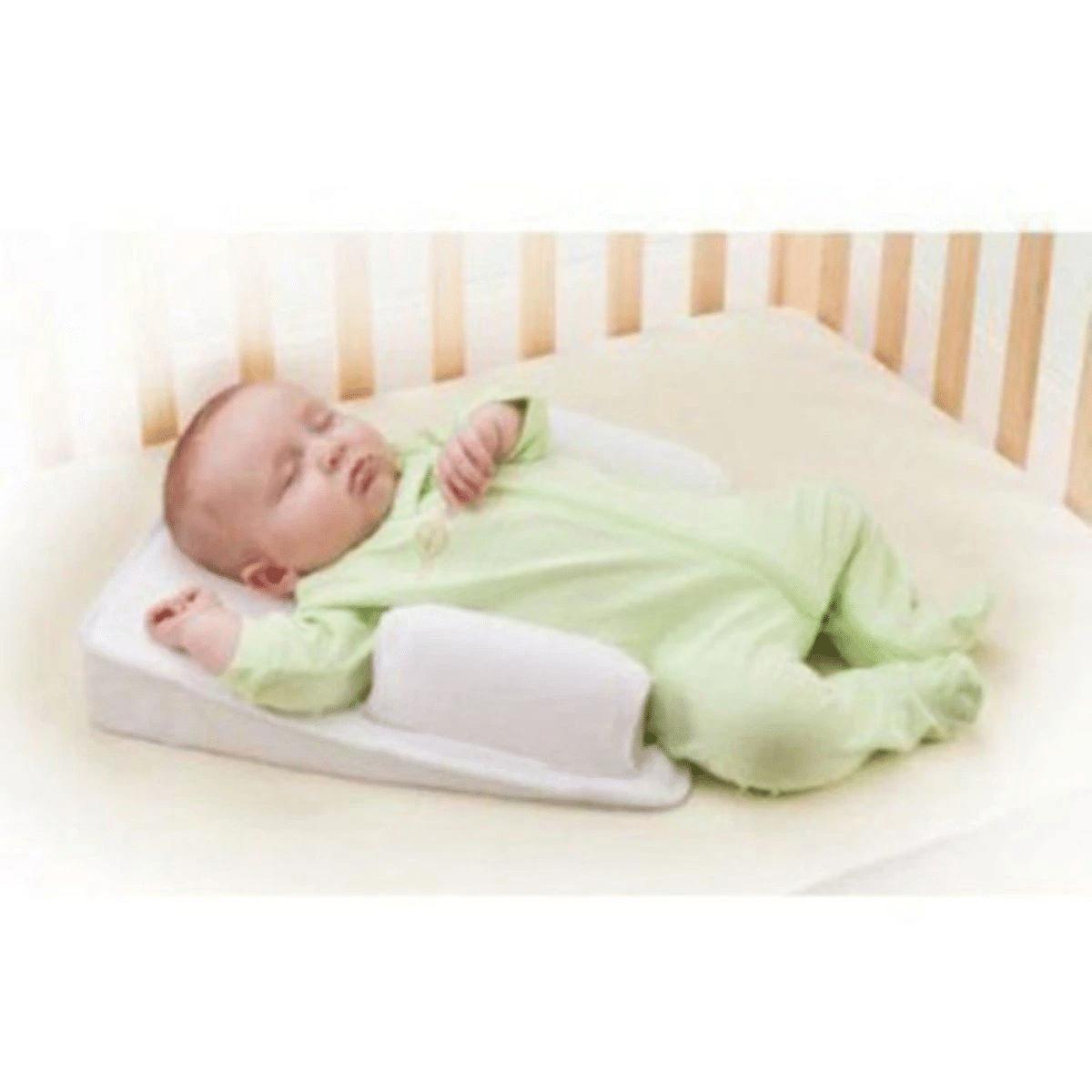 Newborn Baby Sleep Fixed Position & Anti Roll Pillow
