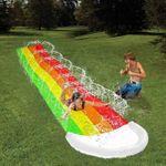Rainbow Lawn Water Slip N Slide