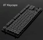 Steampunk Style Typewriter Mechanical Keyboard Switch