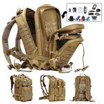 Tactical Backpack Bug Out Bag