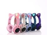 Wireless Cat Ear Headphones Bluetooth Headset