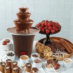 Chocolate Fondue Fountain Assemble 3 Tiers