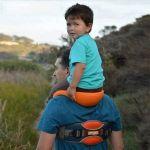 Shoulder Carrier Seat Saddle Kids Child Baby Ankle Straps Hands Backpack Saddle Travel Backpack
