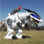 Intellisaur Remote Control Dinosaur Toy Robot For Kids - Interactive Electronic Pet Rc Robot Toy