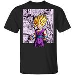 Dragon Ball Gohan Super Saiyan Shirt Anime Character Mix Manga Style Tee
