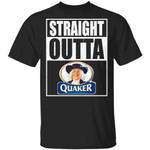 Straight Outta Quaker Tee Shirt Snack Lovers T-shirt