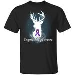Expecto Patronum Pancreatic Cancer Awareness T-shirt Harry Potter Patronus Tee