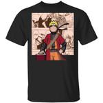 Naruto Uzumaki Shirt Anime Character Mix Manga Style Tee
