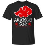 Akatsuki Son Shirt Naruto Red Cloud Family Tee