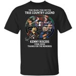 Kenny Rogers T-shirt The Man The Myth The Country Legend Tee