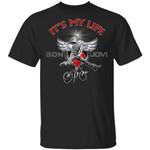 Bon Jovi Tee Shirt It's My Life Jon Bon Jovi Signature T-shirt