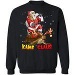 Kame Claus Master Roshi Santa Sweatshirt Dragon Ball Christmas Shirt