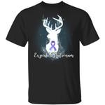 Expecto Patronum Testicular Cancer Awareness T-shirt Harry Potter Patronus Tee