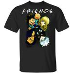 Hunter X Hunter Friends Shirt Gon Kurapika Leorio Killua Tee