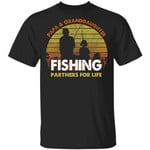 Papa And Granddaughter Fishing Partners For Life T-Shirt Fishing Lover