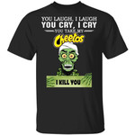 Cheetos Achmed T-shirt You Take My Snack I Kill You Tee