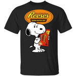 Snoopy And Reese's T-shirt Funny Snack Tee