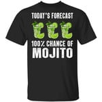 Today's Forecast 100% Mojito T-shirt Cocktail Tee