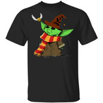 Baby Yoda And Golden The Snitch T-shirt