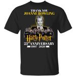 Thank You JK Rowling T-shirt Harry Potter 23rd Anniversary Tee