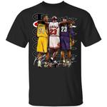 Kobe Bryant Michael Jordan LeBron James T-shirt Champion Legend