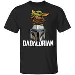 Dadalorian Mandalorian Dad T-shirt Baby Yoda Tee