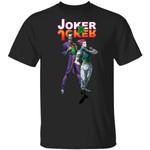 Joker X Joker Hisoka and Joker Shirt Parody Anime Hunter X Hunter Tee