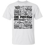 One Direction T-shirt 1D Reunion Tee