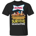 Sonic Drive-In Helping Me Survive Quarantine T-shirt